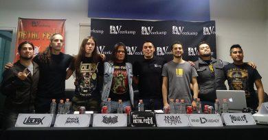 Regresa con más fuerza el Veerkamp Metal Fest